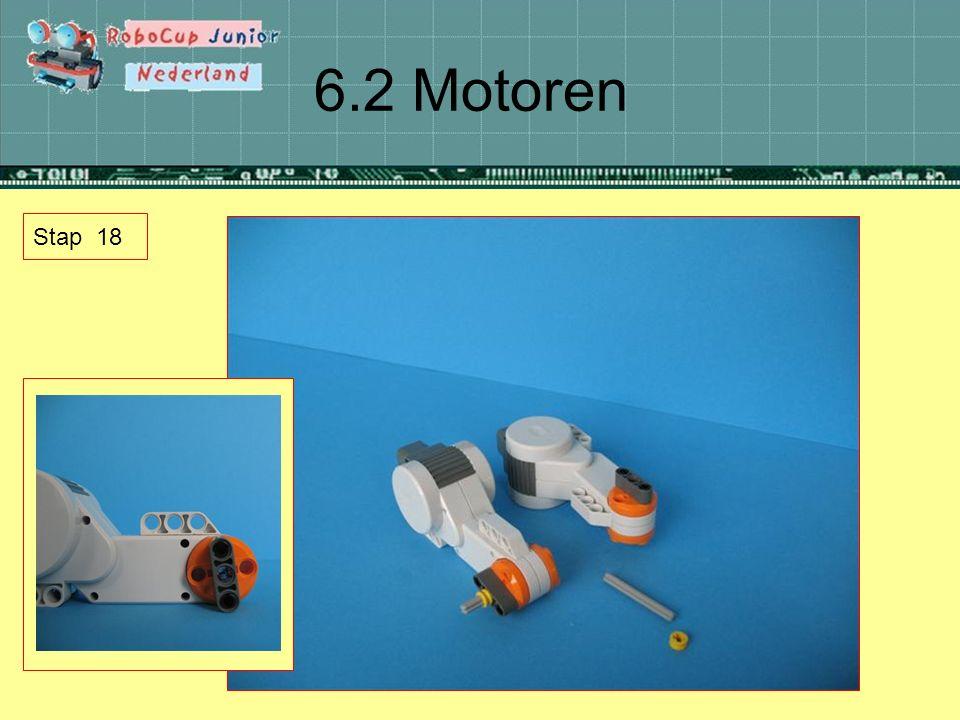 6.2 Motoren Stap 18