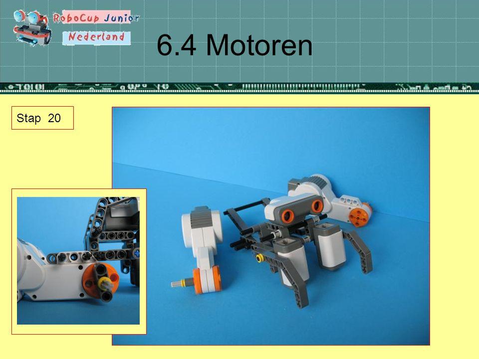 6.4 Motoren Stap 20