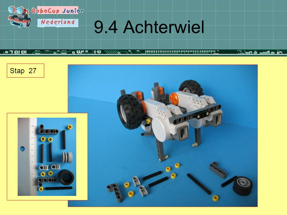 9.4 Achterwiel Stap 27