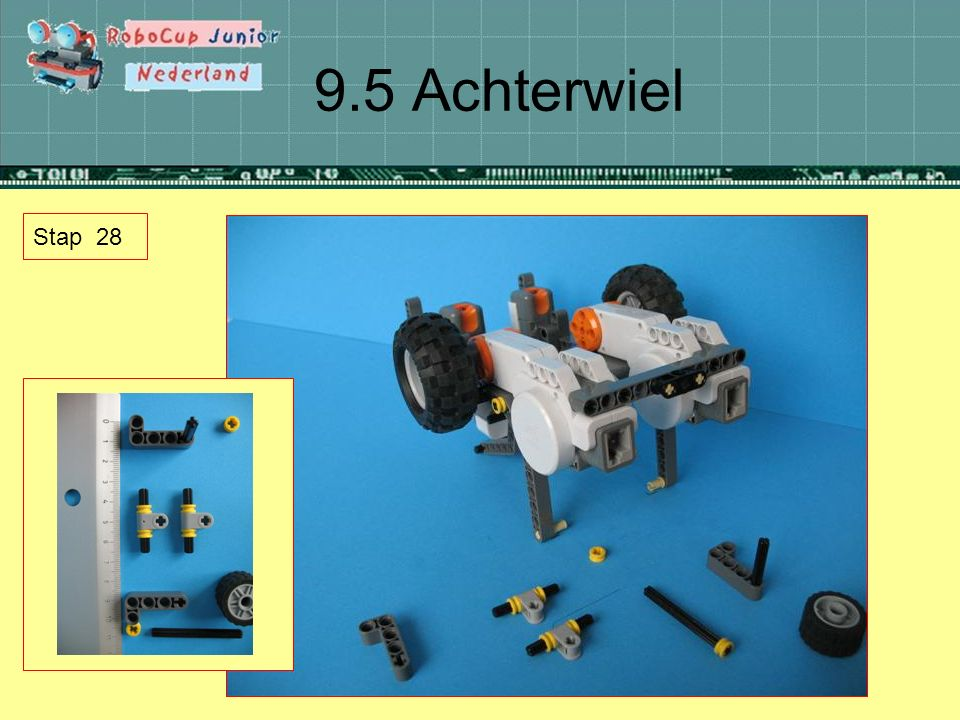 9.5 Achterwiel Stap 28