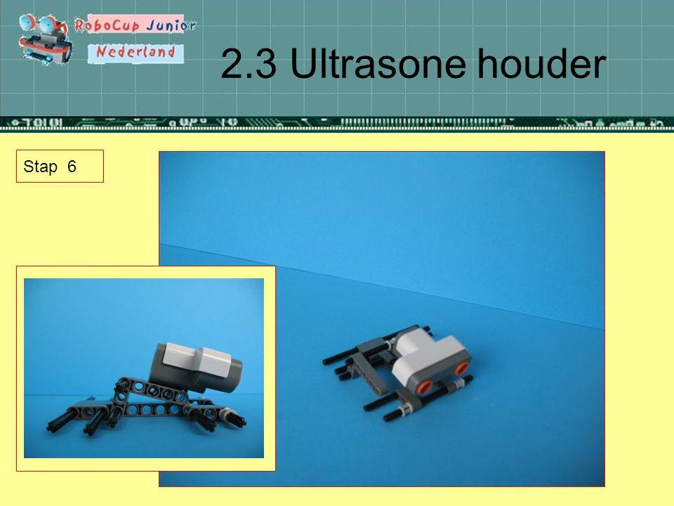 2.3 Ultrasone houder Stap 6