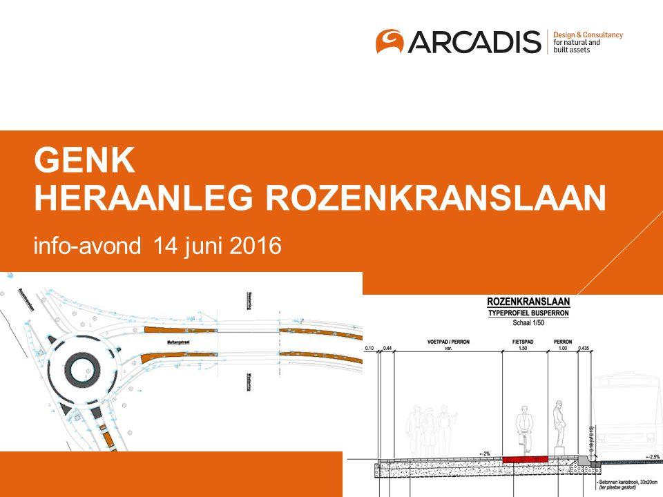 GENK HERAANLEG ROZENKRANSLAAN info-avond 14 juni 2016