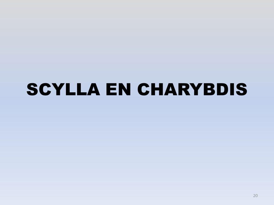 SCYLLA EN CHARYBDIS 20