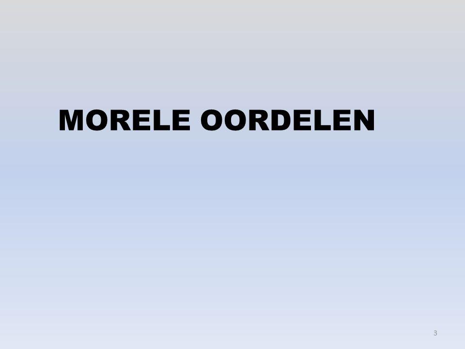 MORELE OORDELEN 3