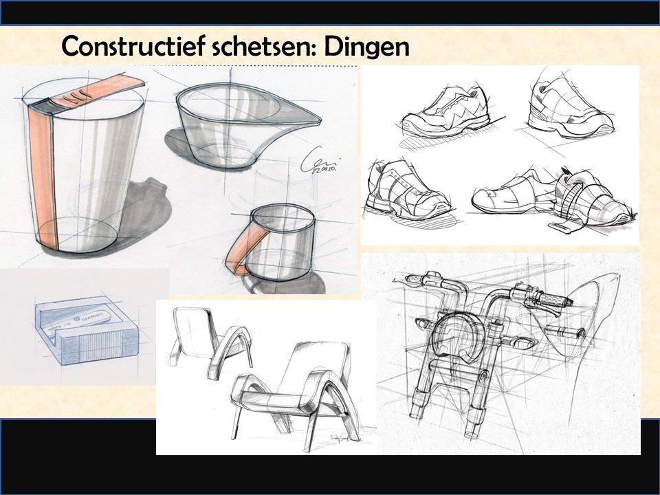 Constructief schetsen: Dieren