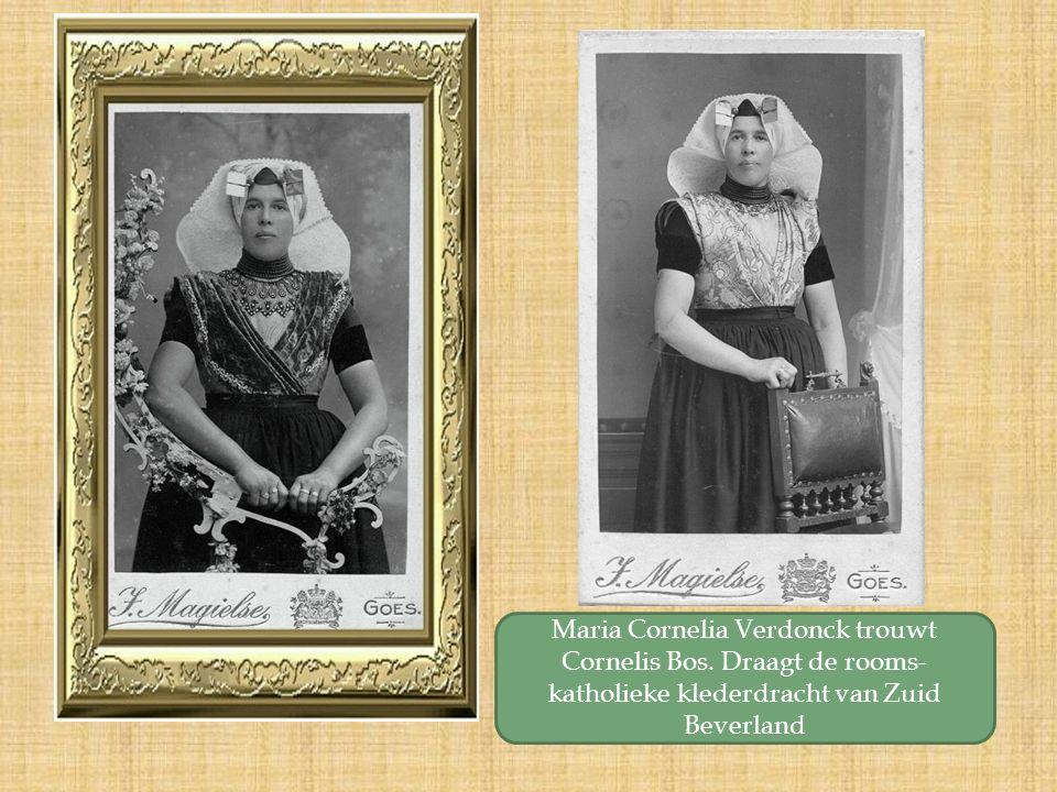 Maria Cornelia Verdonck trouwt Cornelis Bos.