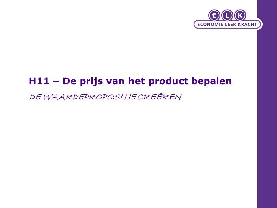 11.1 Prijs: wat kost het? Toekenning van waarde Alternatieve kosten/opportunity cost