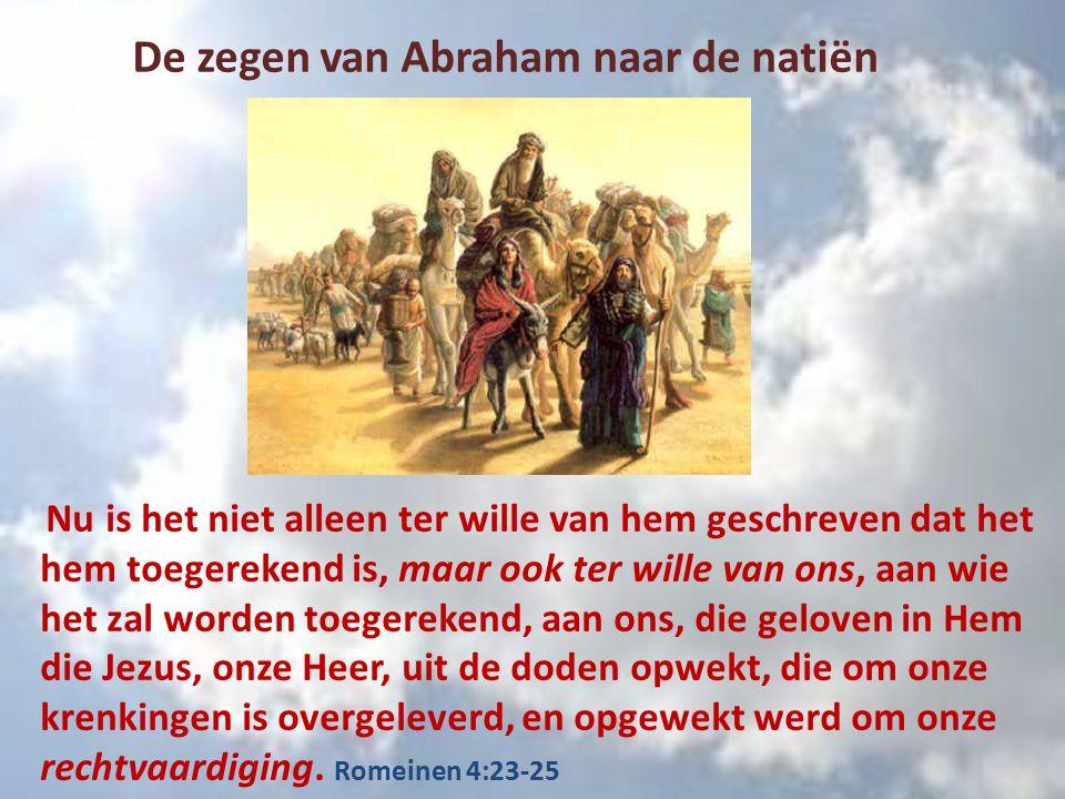 Want niet door wet is de belofte aan Abraham of aan zijn zaad om de lotgenieter van de wereld te zijn, maar door gerechtigheid van geloof Romeinen 4:13 Het lot wordt in de schoot geworpen, maar elke beslissing daardoor komt van Ieue – Spreuken 16:33