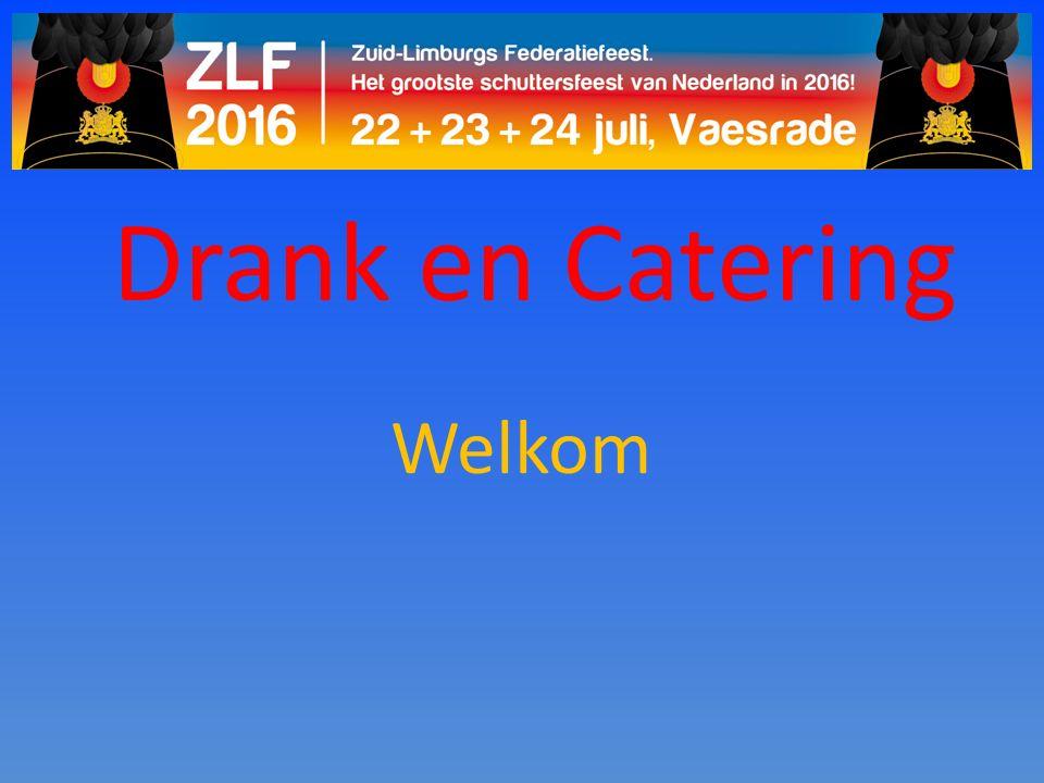 Drank en Catering Welkom