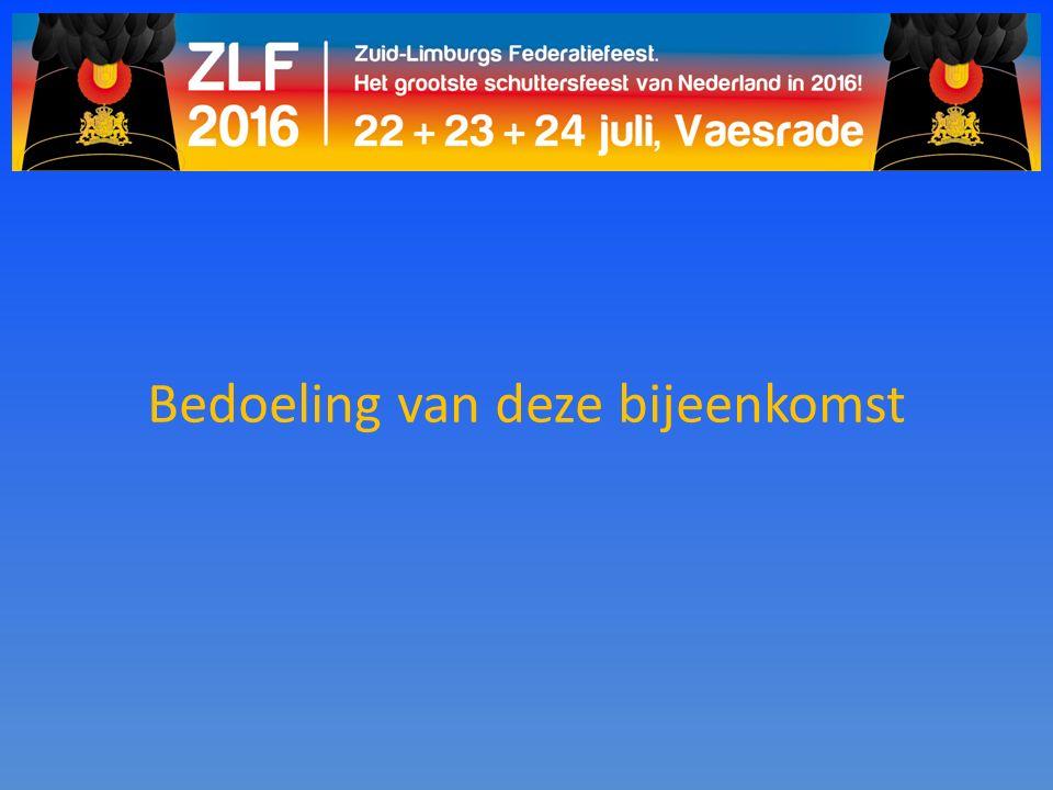 Programma: Zondag 17 juli: Sponsorschieten Vrijdag 22 juli: Vrienden van Limburg Live Zaterdag 23 juli: Zillertal meets Voasje Zondag 24 juli: ZLF dag Maandag 25 juli: Vrijwilligersavond ZLF