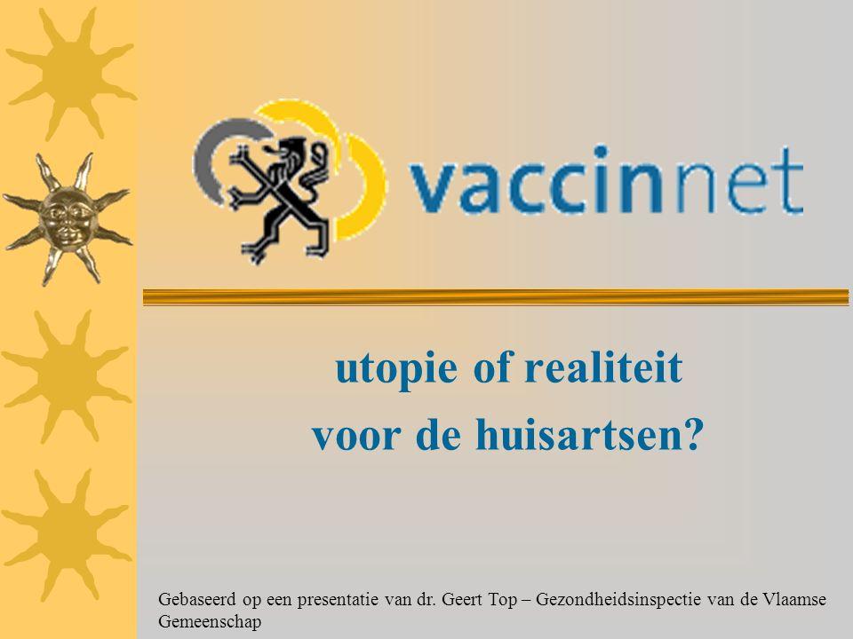 utopie of realiteit voor de huisartsen. Gebaseerd op een presentatie van dr.