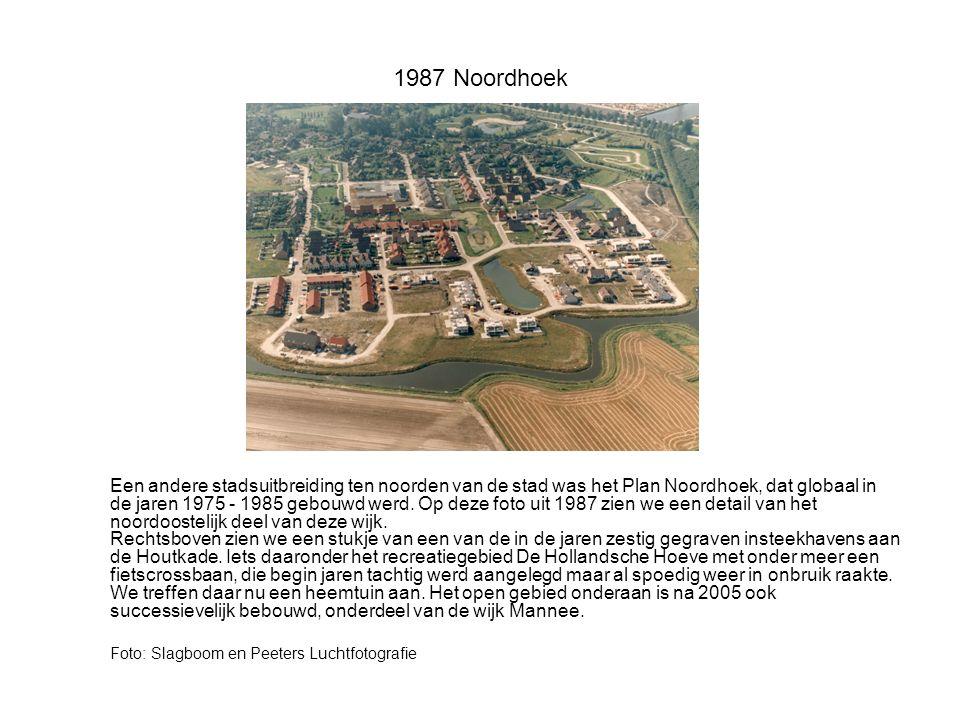 1992 Brand Marconistraat Als de Rode Haan Goes teistert dan maakt dat natuurlijk indruk.