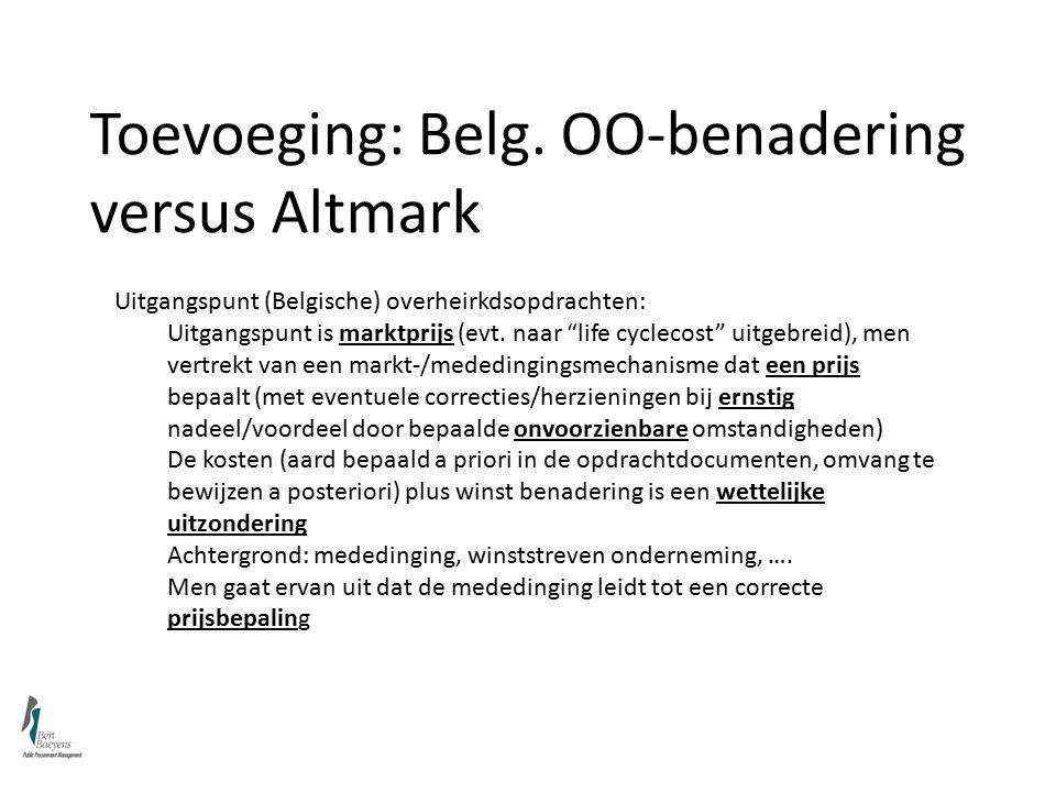 Toevoeging: Belg.