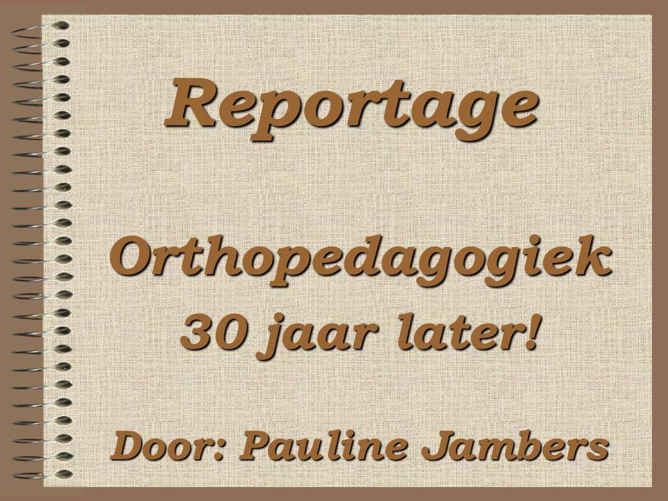 Verschil tussen boek van Vliegenthart en boek van Van Gelder: Vliegenthart: abstracte situering van algemene orthopedagogiek Van Gelder: gaat dieper in op praktijk en is dus meer een handboek