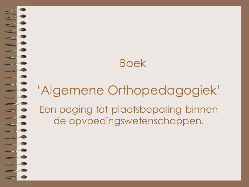 Vliegenthart wordt beschouwd als één van de belangrijkste Europese orthopedagogen van zijn tijd.