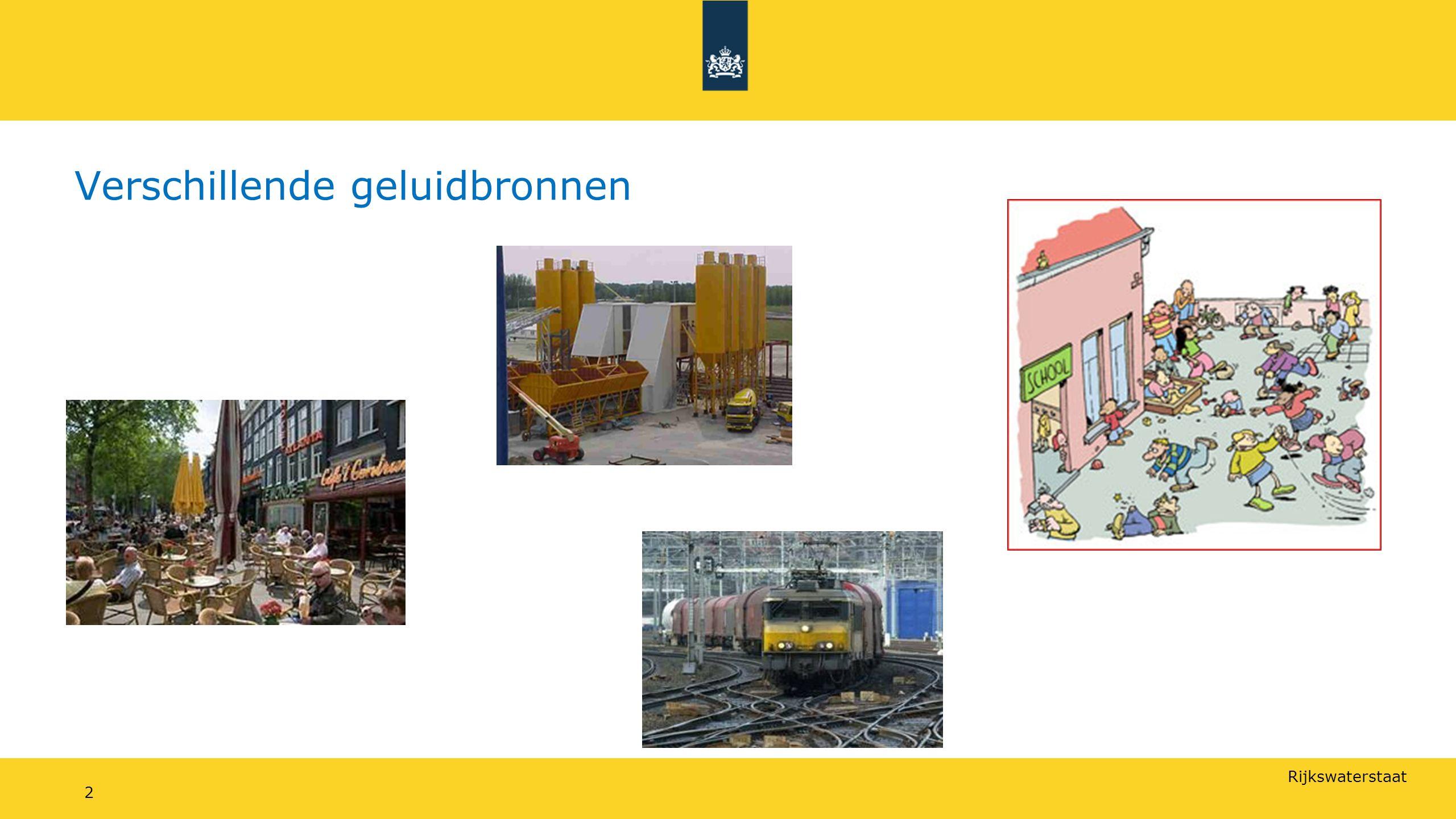 Rijkswaterstaat Verschillende geluidbronnen 2