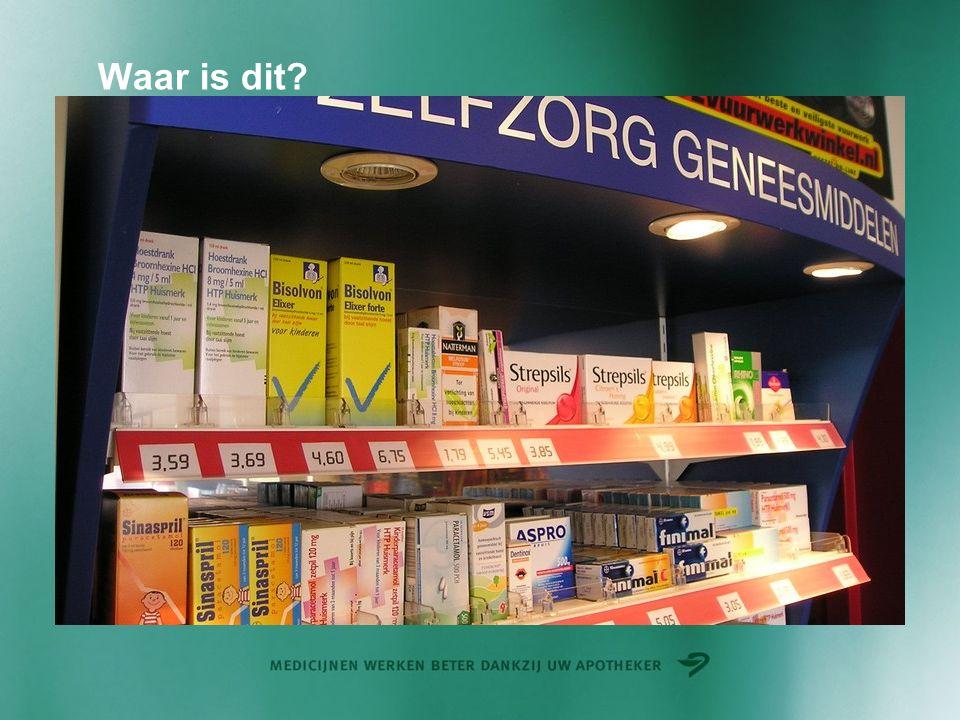Geneesmiddelen in de vrije verkoop Let op als u al medicatie gebruikt.