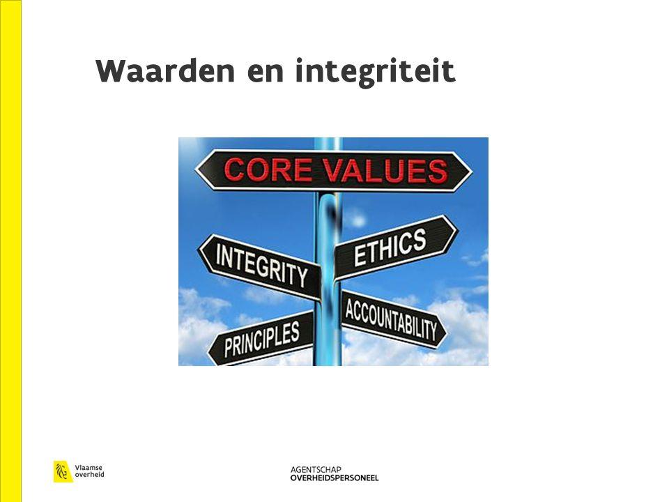 Waarden en integriteit