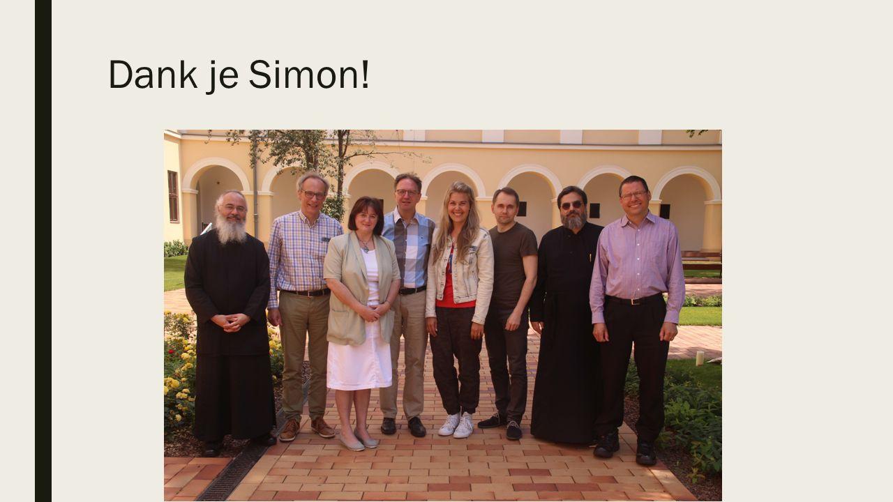 Dank je Simon!