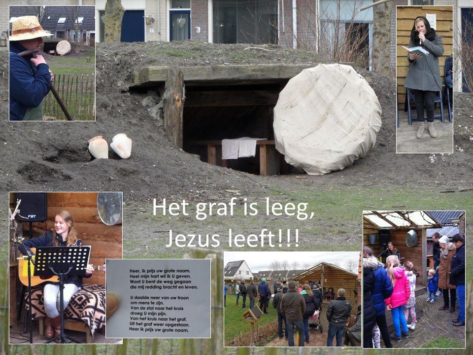 Het graf is leeg, Jezus leeft!!!