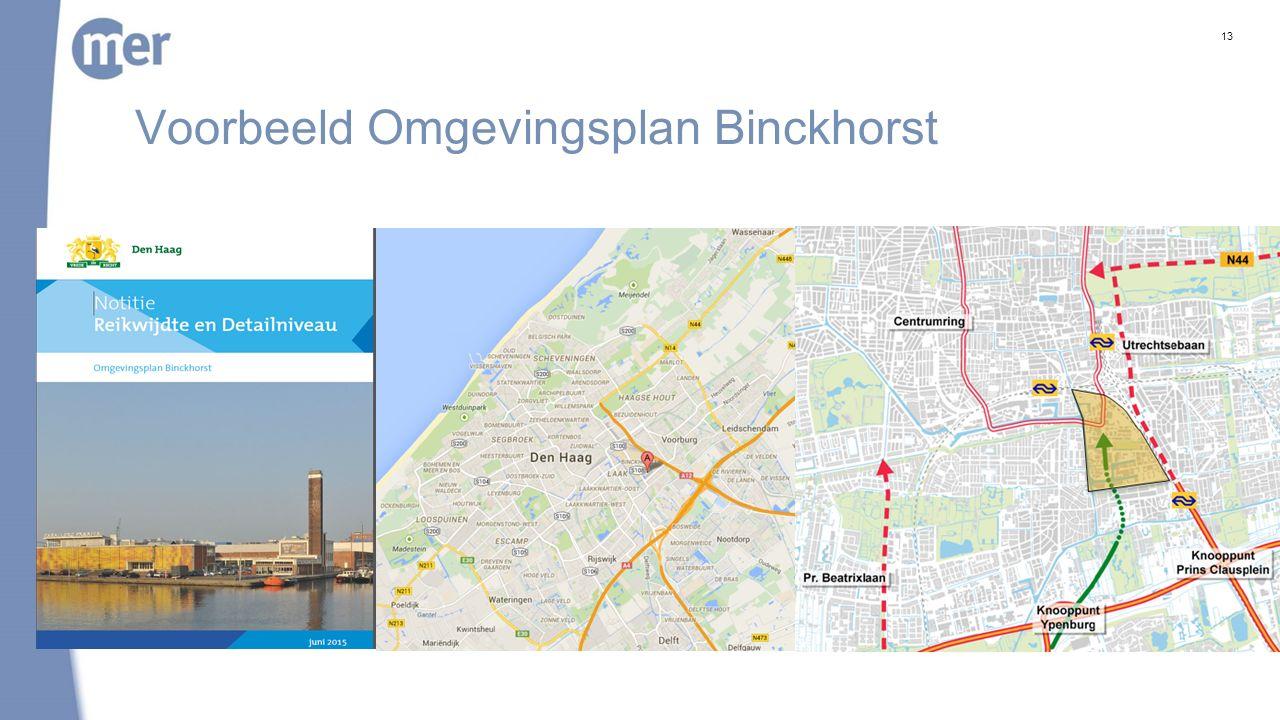 Voorbeeld Omgevingsplan Binckhorst 13