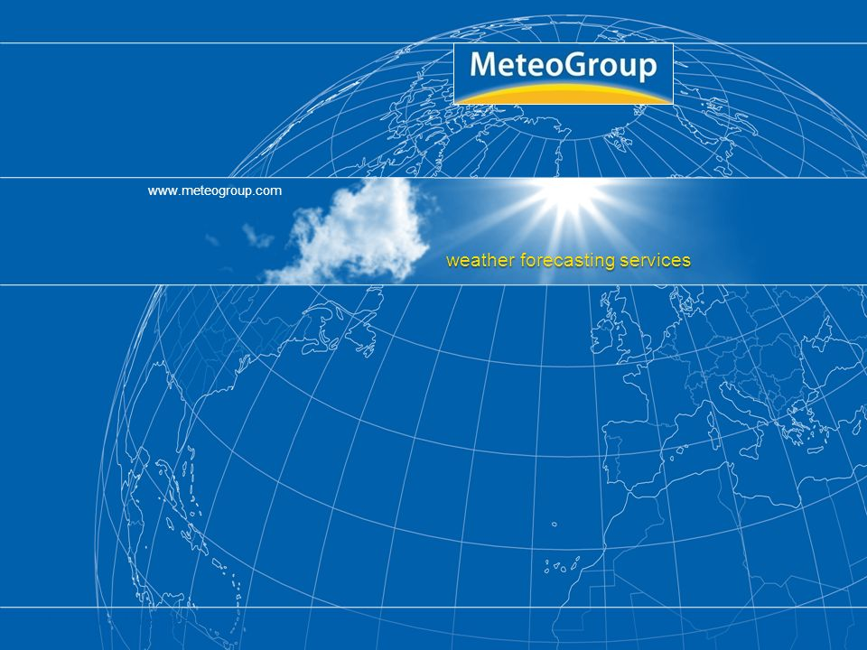 www.meteogroup.com Susanne Theis DWD Page 22