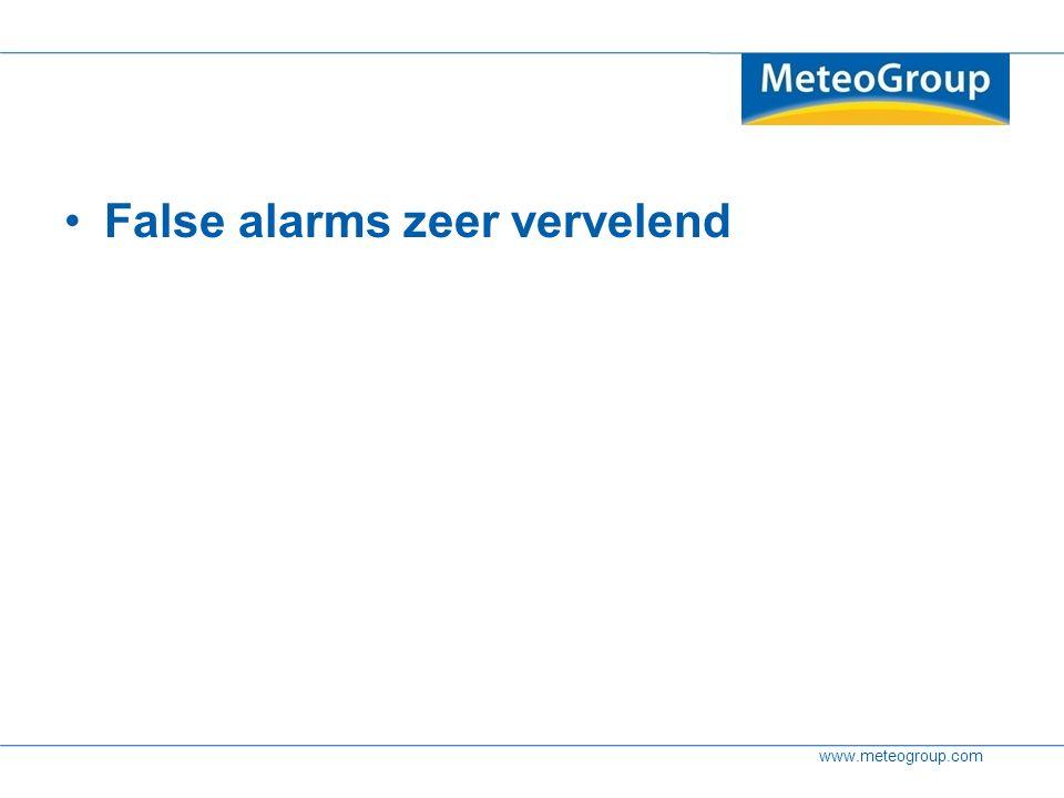 www.meteogroup.com False alarms zeer vervelend