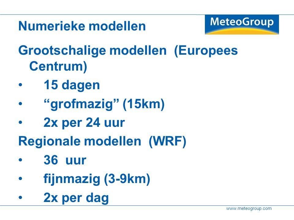 www.meteogroup.com Bandbreedte informatie is bij onze klanten het populairste ensemble product Afsluiting Page 38