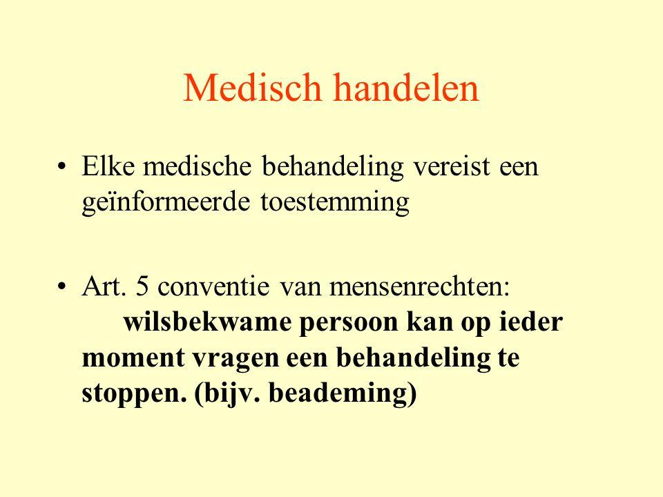 Medisch handelen dat geen uitzicht biedt niet kan genezen leven niet kan verlengen kwaliteit van leven niet kan bevorderen heeft geen therapeutisch nut is niet afdwingbaar door de patiënt.