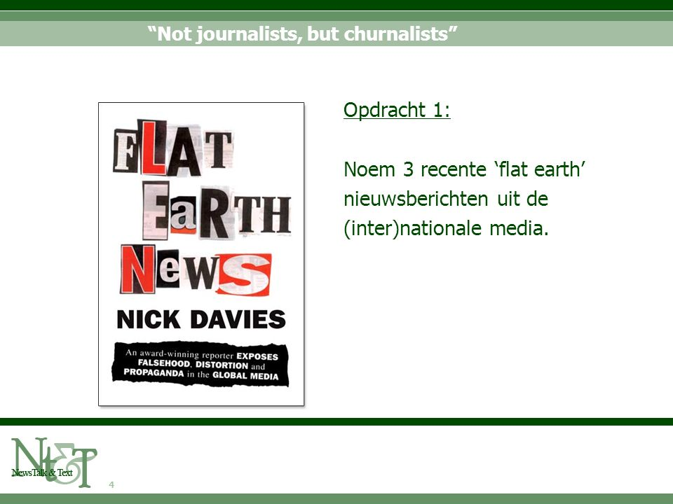 5 Four rumours and an explanation Bron: Lewis, Williams & Franklin 2008 journalists have become news processors instead of generators market demands force smaller workforces to produce more journalists have become less weary of PR copy decreased editorial independence in UK newsrooms