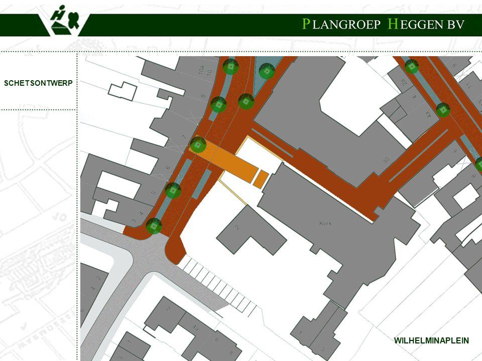 PROJECT:Centrumplan Born WILHELMINAPLEIN SCHETSONTWERP