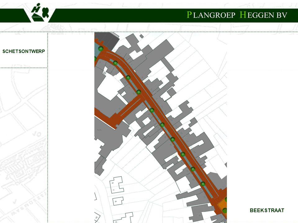 PROJECT:Centrumplan Born BEEKSTRAAT SCHETSONTWERP