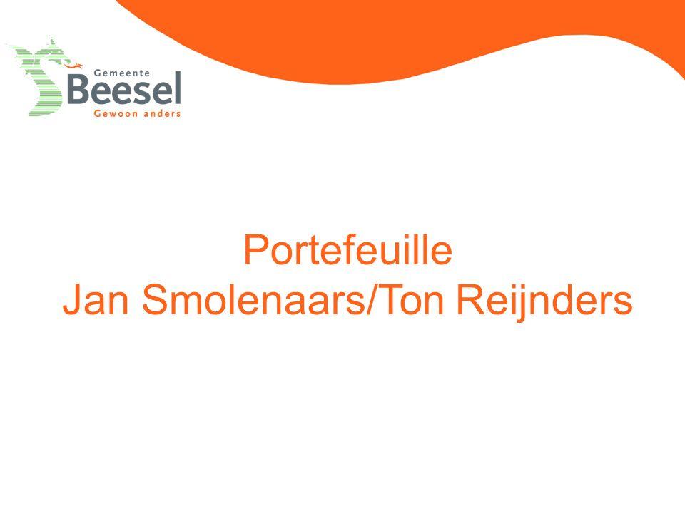 Portefeuille Jan Smolenaars/Ton Reijnders