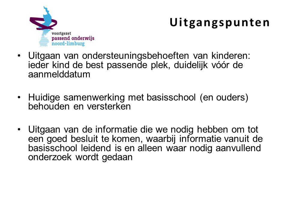 Samenvatting procedure 4.Aanvraag bij Ondersteuningsloket 5.