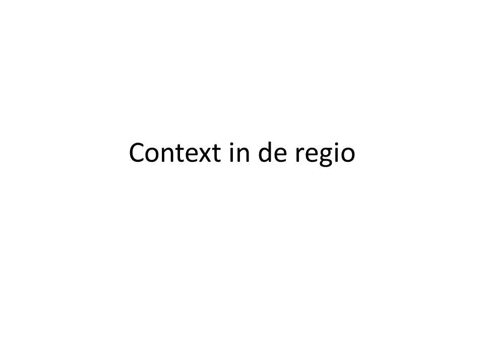 Context in de regio