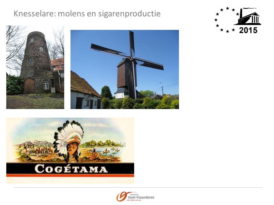 Knesselare: molens en sigarenproductie