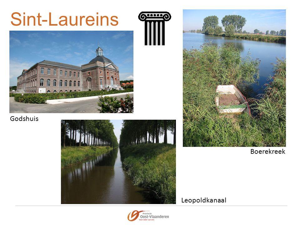 Sint-Laureins Godshuis Boerekreek Leopoldkanaal