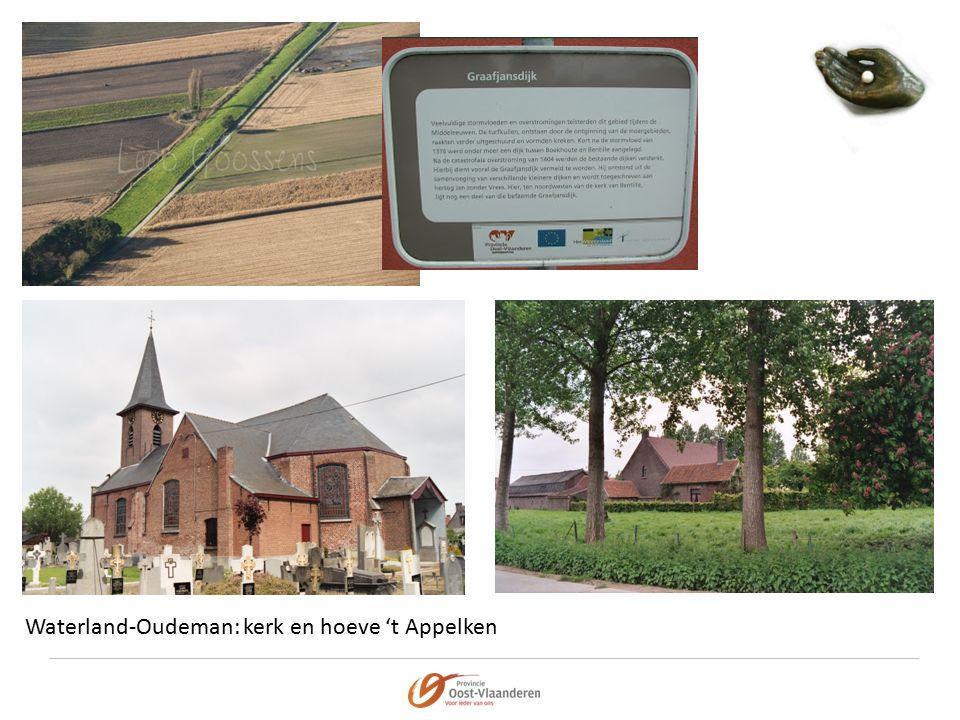 Waterland-Oudeman: kerk en hoeve 't Appelken