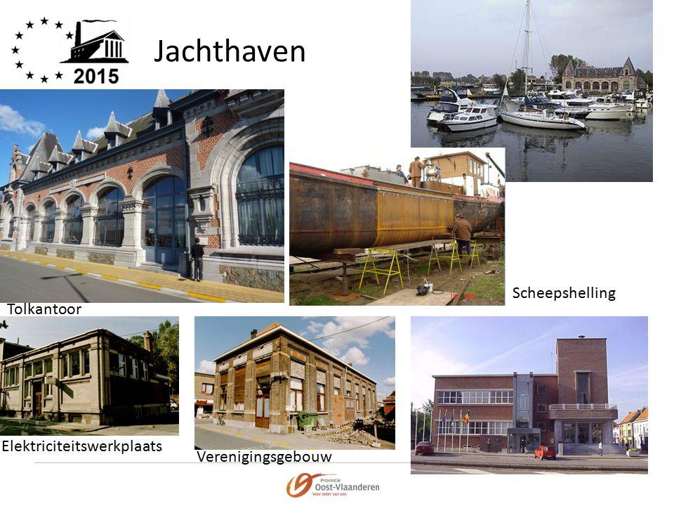 Jachthaven Tolkantoor Scheepshelling Elektriciteitswerkplaats Verenigingsgebouw
