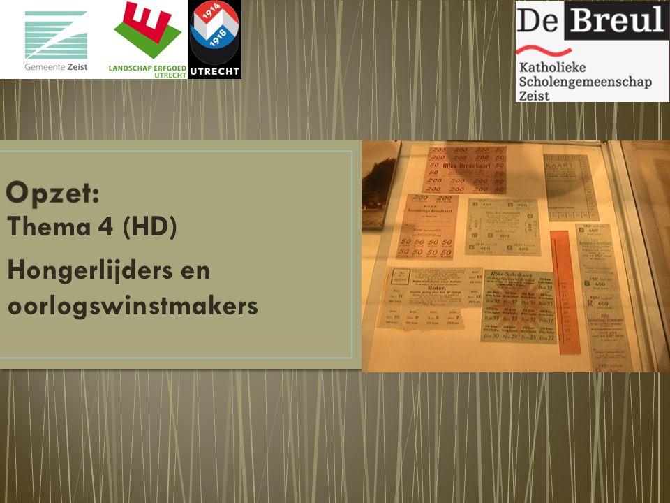 Thema 4 (HD) Hongerlijders en oorlogswinstmakers