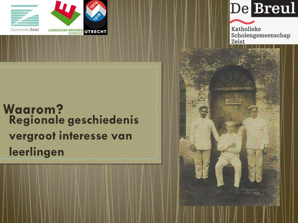 Regionale geschiedenis vergroot interesse van leerlingen