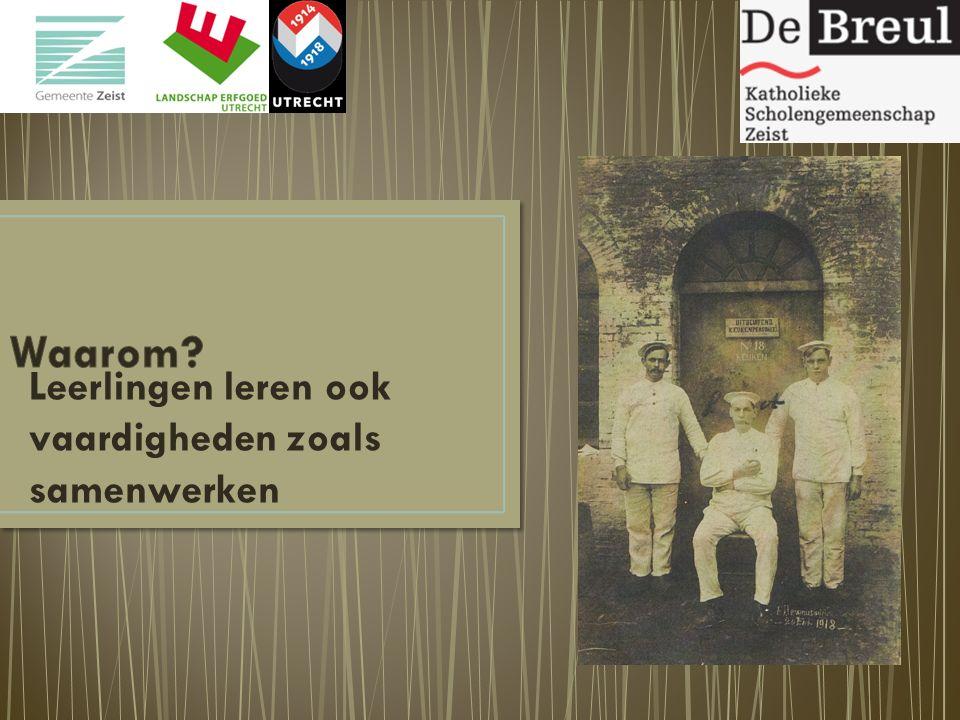 Thema 7: De Hollandse Waterlinie als verdedigingslinie