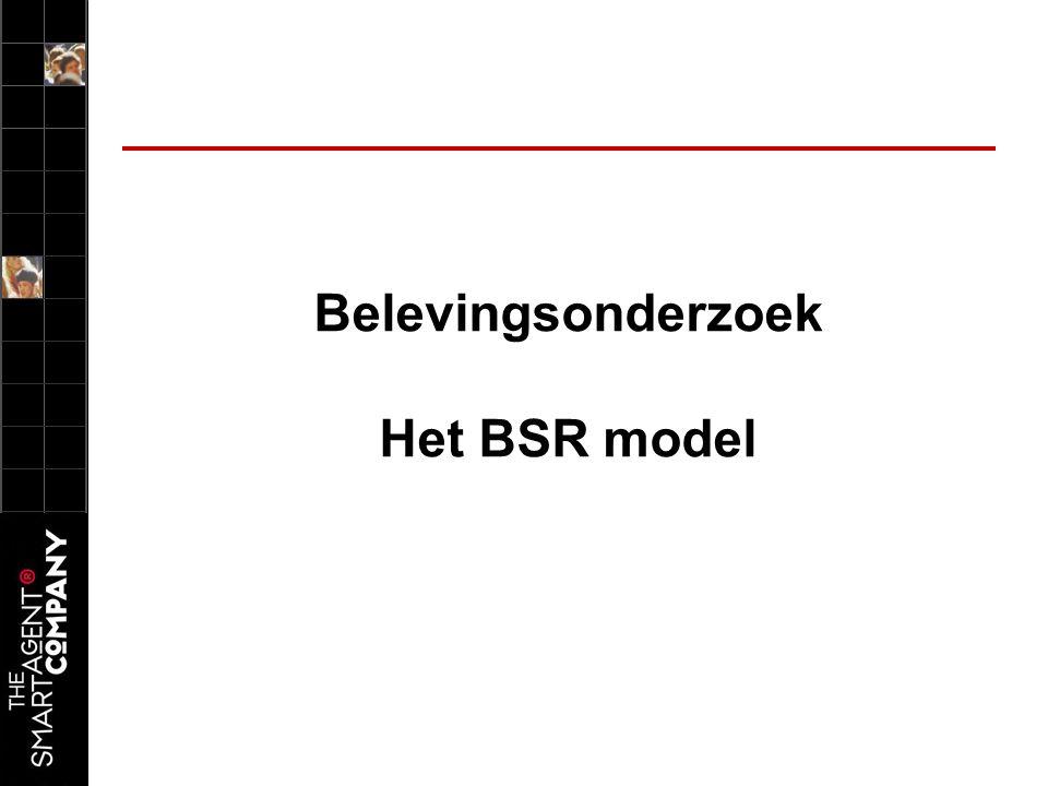 Belevingsonderzoek Het BSR model