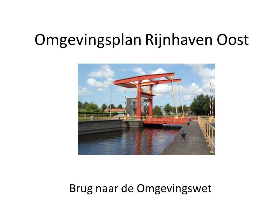 Omgevingsplan Rijnhaven Oost Brug naar de Omgevingswet