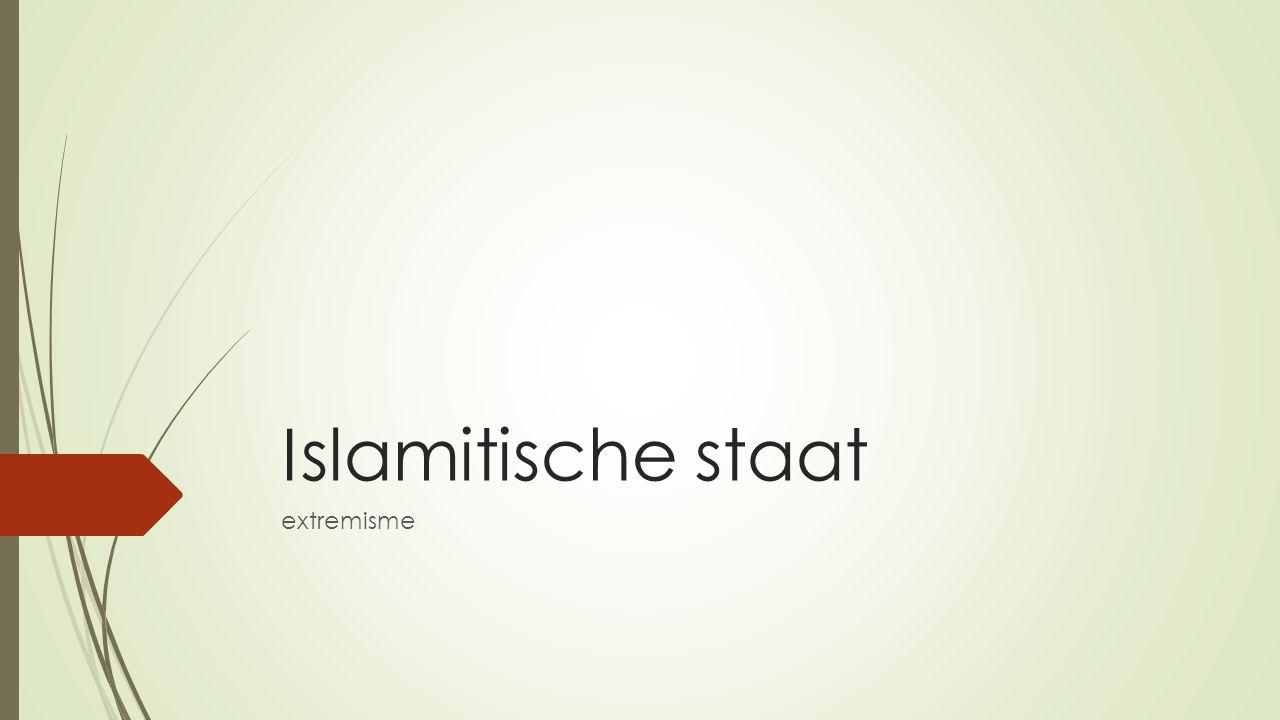 Islamitische staat extremisme