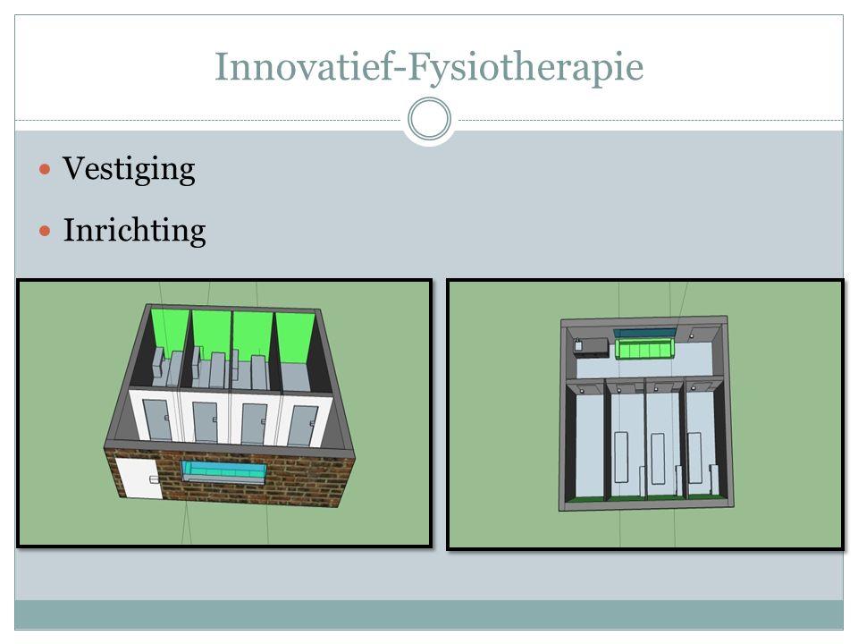 Innovatief-Fysiotherapie Missie & Visie  Efficientie  Doelmatigheid  Kwaliteit Korte en lange termijn doelstellingen  SMART