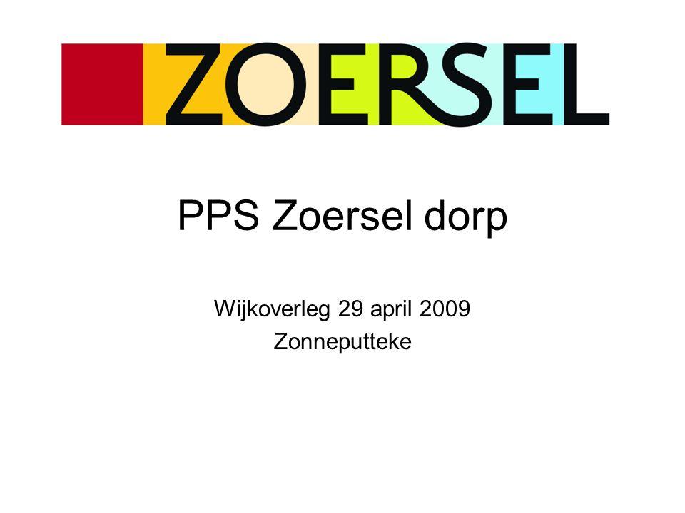 PPS Zoersel dorp Gewenste functionaliteit Gemeenschapsinfrastructuur –Administratieve antenne Zoersel (incl.