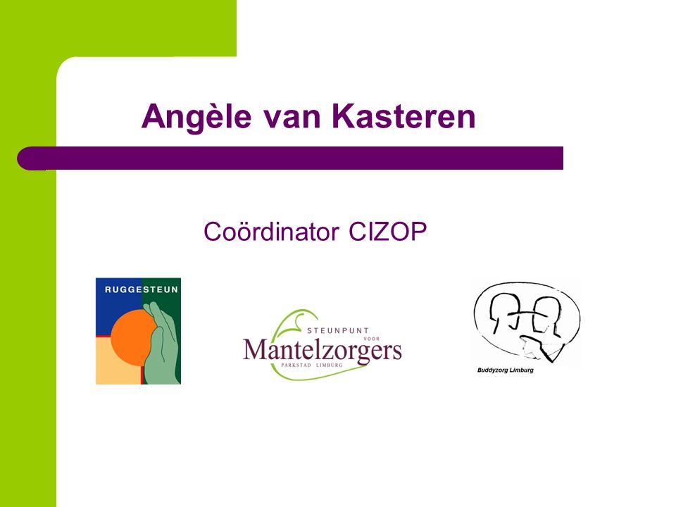 Angèle van Kasteren Coördinator CIZOP