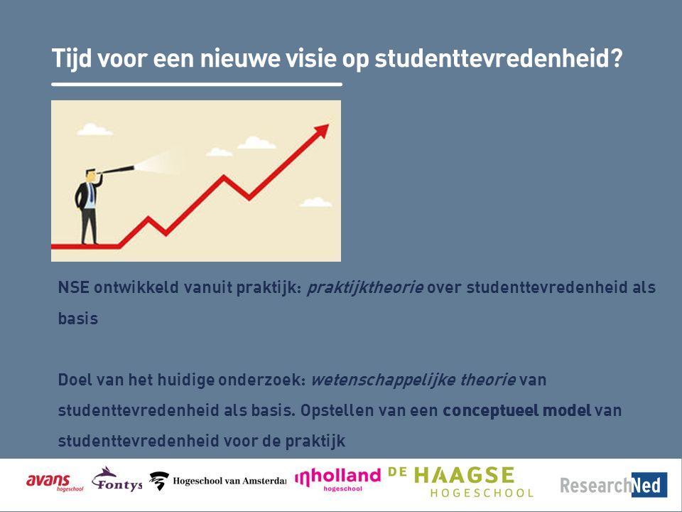 Tijd voor een nieuwe visie op studenttevredenheid.