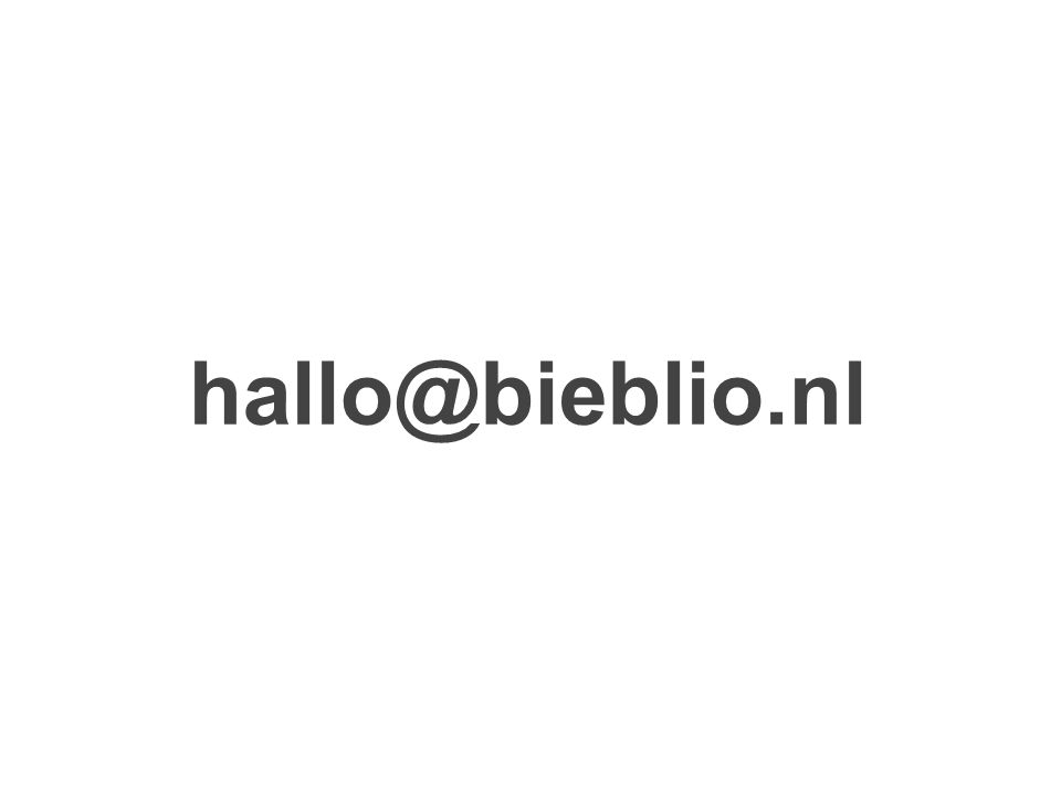 hallo@bieblio.nl